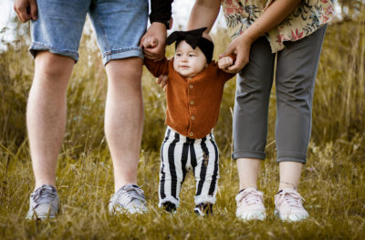 Perhekuvaus miljöössä